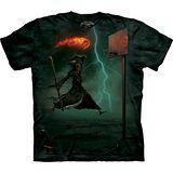 『摩達客』美國進口【The Mountain】自然純棉系列 死神灌籃 設計T恤 (預購)