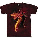 『摩達客』美國進口【The Mountain】自然純棉系列 紅火龍之眼 設計T恤 (預購)