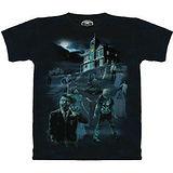 『摩達客』美國進口【The Mountain】自然純棉系列 殭屍夜螢光特效設計T恤 (預購)