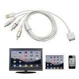 ipad/iphone液晶電視螢幕 視訊轉換AV線
