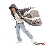 RainX 連身式 / 一件式 透氣防風雨衣(灰)