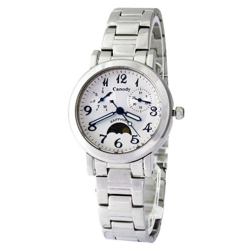 Canody 晴星物語雙環腕錶(白)_CJ5618-1B