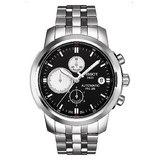 TISSOT PRC200 典藏計時機械錶(黑)~42mm