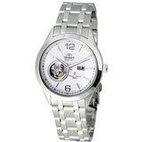 ORIENT 鏤空藝術機械錶(白) CDB05S白