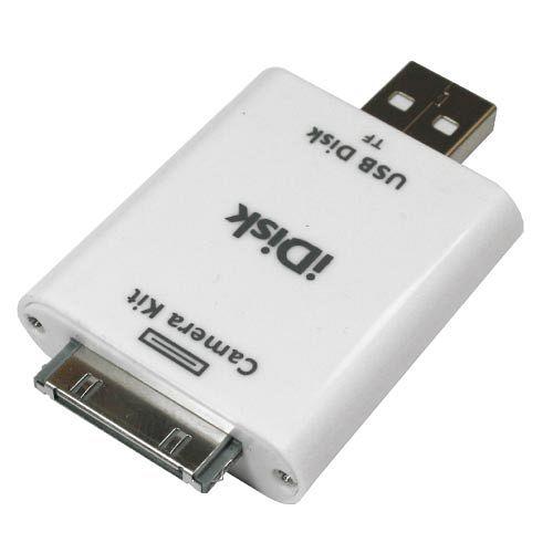 iPad to PC/ NB 兩用Micro SD單卡讀卡機