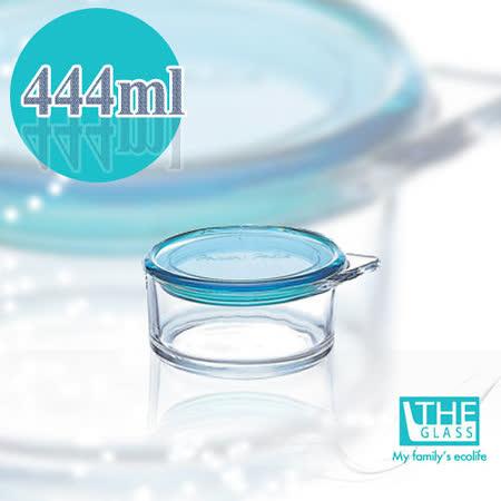 韓國THE Glass-雅致玻璃保鮮盒-444ml
