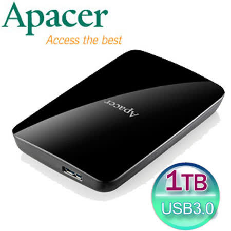 Apacer宇瞻 AC233 1TB USB3.0 2.5吋行動硬碟