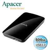 Apacer宇瞻 AC233 500GB USB3.0 2.5吋行動硬碟