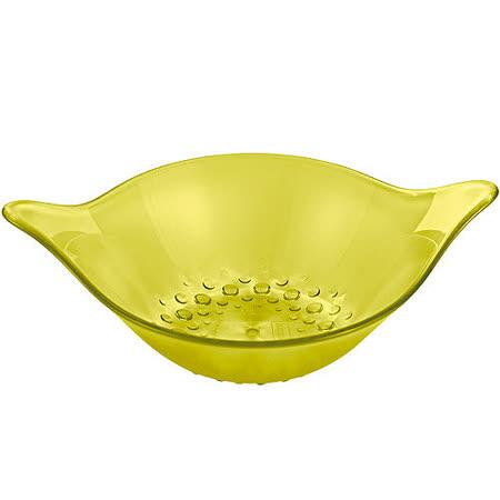 《KOZIOL》Leaf點心輕食碗(透綠M)