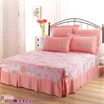 【享夢城堡】LittleTwinStars雙星樂園系列-雙人床罩組