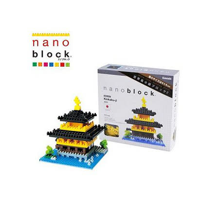 《Nano Block迷你積木》金閣寺 (NBHC-011)