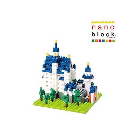 《Nano Block迷你積木》新天鵝堡 (NBHC-010 )