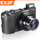 SAMSUNG EX2F F1.4超大光圈隨身機(公司貨-黑色).-加送32GC10卡+賓士蓋+相機清潔組+螢幕保護貼+讀卡機+桌用腳架