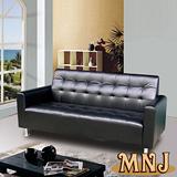MNJ-簡單樂活獨立筒沙發-3人座(贈同色系抱枕*2)