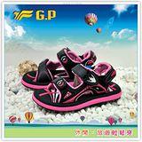 [GP]新款上市親子系列童鞋-舒適磁釦涼拖兩用鞋 G3605B-15(黑桃)共有三色
