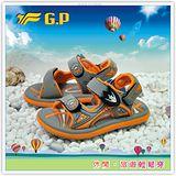 [GP]新款上市親子系列童鞋-舒適磁釦涼拖兩用鞋 G3605B-42(橘色)共有三色