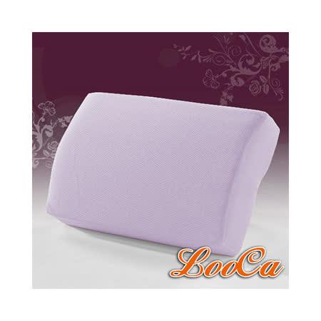【LooCa】吸濕排汗釋壓午安枕(紫)