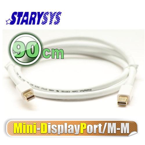 曜兆STARY高級線材Mini DisplayPort-90公分圓線(公-公)