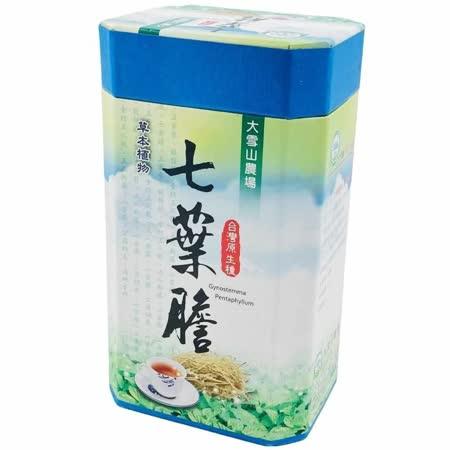 【大雪山農場】七葉膽茶(30包x4罐)