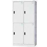 HAPPYHOME~免組裝~多用途3x6尺鋼製4人置物櫃HDF-2504A