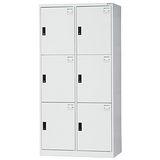 HAPPYHOME~免組裝~多用途3x6尺鋼製6人置物櫃HDF-2506A