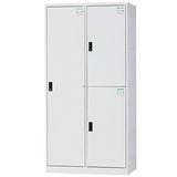 HAPPYHOME~免組裝~多用途3x6尺鋼製3格置物櫃HDF-BL-2503A