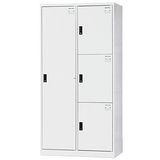 HAPPYHOME~免組裝~用途3x6尺鋼製4格置物櫃HDF-BL-2513A