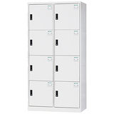 HAPPYHOME~免組裝~多用途3x6尺鋼製8格置物櫃HDF-2508A