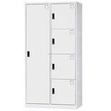 HAPPYHOME~免組裝~多用途3x6尺鋼製5格置物櫃HDF-2514A