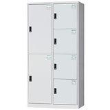 HAPPYHOME~免組裝~多用途3x6尺鋼製6格置物櫃HDF-2524A
