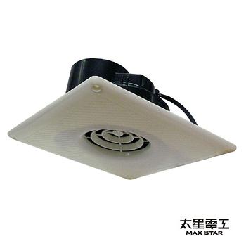天花板吸頂專用喜馬拉雅浴室用通風扇(直排) WFS290.