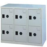 HAPPYHOME~免組裝~多用途高級鋼製6格置物櫃MC-1006A