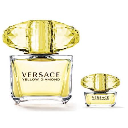 Versace 凡賽斯 香愛黃鑽 女性淡香水90ml 贈 隨機小香