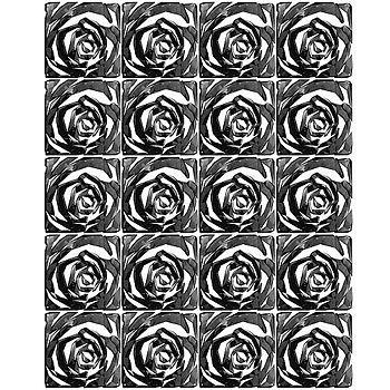 《KOZIOL》Rom玫瑰掛式屏風(黑)