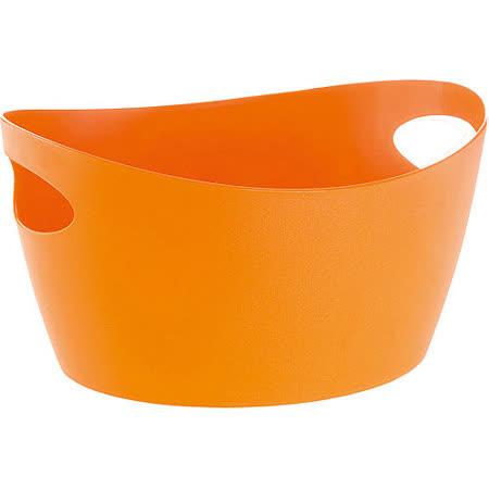 《KOZIOL》Bott雙柄收納籃(橘M)