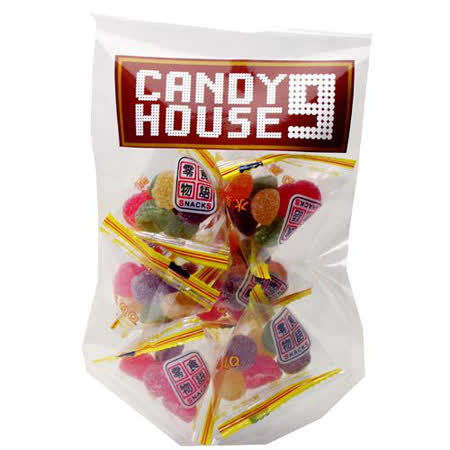 《CANDY HOUSE 9》水果QQ糖(100g)