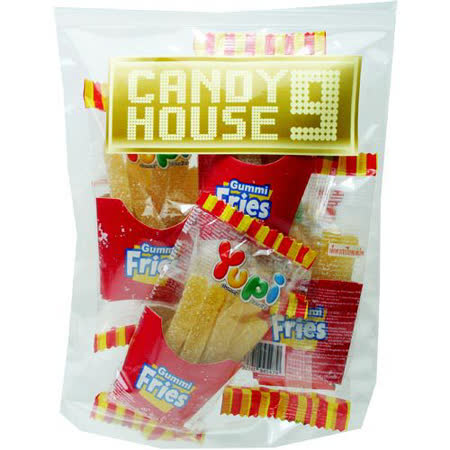 《CANDY HOUSE 9》薯條QQ糖(100g)