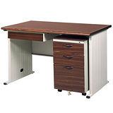 BTHA胡桃木紋辦公桌櫃組250-8(120)
