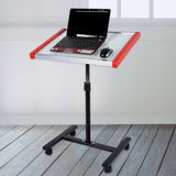 LIFECODE《寫字板》筆記型電腦桌-紅色