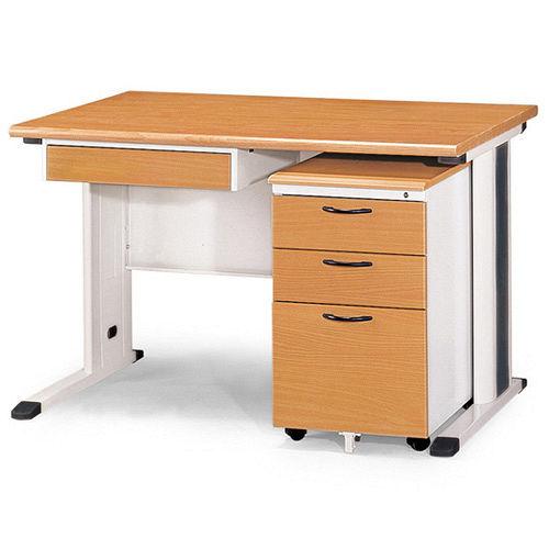 SKH木紋辦公桌櫃組258~3^(120^)