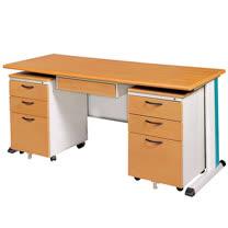 SKD木紋辦公桌櫃組(150)