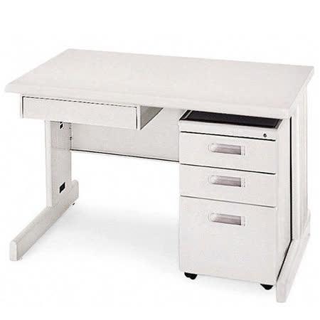 HU淺灰色辦公桌櫃組(120)