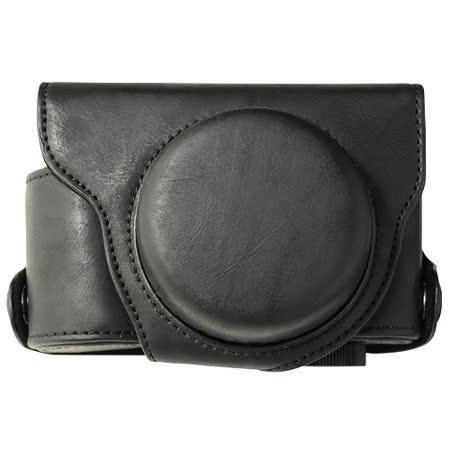 【Kamera】for Panasonic LX7專用皮質相機包(可拆) 黑色