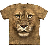 『摩達客』美國進口【The Mountain】自然純棉系列 獅勇士設計T恤 (預購)
