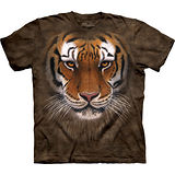 『摩達客』美國進口【The Mountain】自然純棉系列 虎勇士設計T恤 (預購)