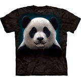 『摩達客』美國進口【The Mountain】自然純棉系列 熊貓頭設計T恤 (預購)