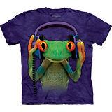 『摩達客』美國進口【The Mountain】自然純棉系列 DJ和平蛙設計T恤 (預購)