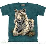 『摩達客』美國進口【The Mountain】自然純棉系列 白虎凝視設計T恤 (預購)