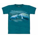 『摩達客』美國進口【The Mountain】自然純棉系列 海牛設計T恤 (預購)