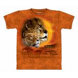 『摩達客』美國進口【The Mountain】自然純棉系列 獅之日設計T恤 (預購)